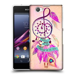 Plastové pouzdro na mobil Sony Xperia Z1 Compact D5503 HEAD CASE Lapač Assorted Music