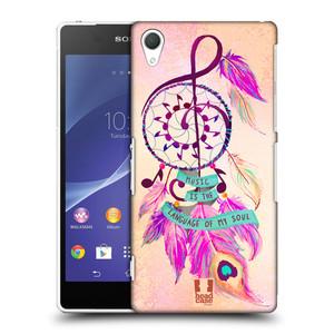 Plastové pouzdro na mobil Sony Xperia Z2 D6503 HEAD CASE Lapač Assorted Music