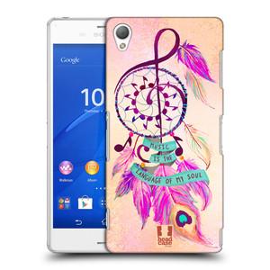 Plastové pouzdro na mobil Sony Xperia Z3 D6603 HEAD CASE Lapač Assorted Music