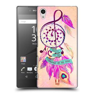 Plastové pouzdro na mobil Sony Xperia Z5 HEAD CASE Lapač Assorted Music