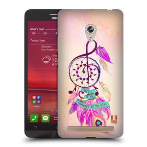 Plastové pouzdro na mobil Asus Zenfone 6 HEAD CASE Lapač Assorted Music