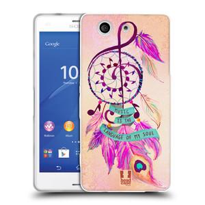 Silikonové pouzdro na mobil Sony Xperia Z3 Compact D5803 HEAD CASE Lapač Assorted Music
