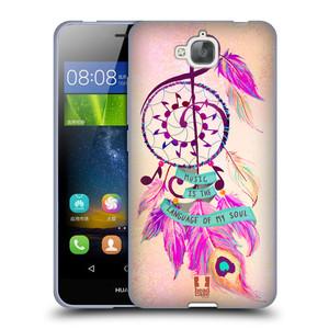 Silikonové pouzdro na mobil Huawei Y6 Pro Dual Sim HEAD CASE Lapač Assorted Music