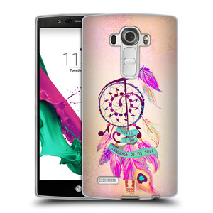 Silikonové pouzdro na mobil LG G4 HEAD CASE Lapač Assorted Music