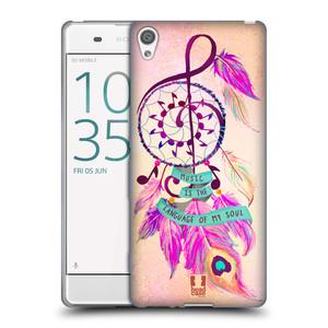 Silikonové pouzdro na mobil Sony Xperia XA HEAD CASE Lapač Assorted Music