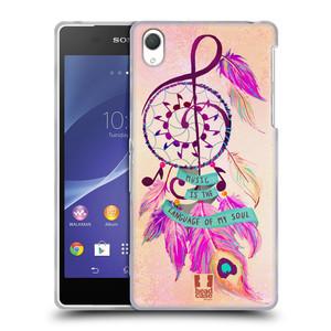 Silikonové pouzdro na mobil Sony Xperia Z2 D6503 HEAD CASE Lapač Assorted Music