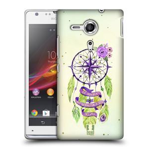 Plastové pouzdro na mobil Sony Xperia SP C5303 HEAD CASE Lapač Assorted Compass