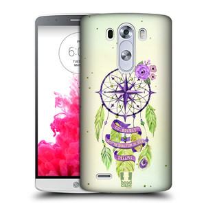 Plastové pouzdro na mobil LG G3 HEAD CASE Lapač Assorted Compass