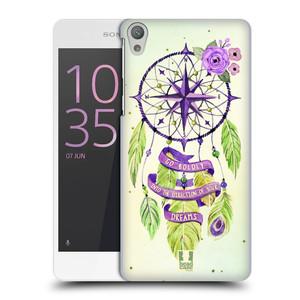Plastové pouzdro na mobil Sony Xperia E5 HEAD CASE Lapač Assorted Compass