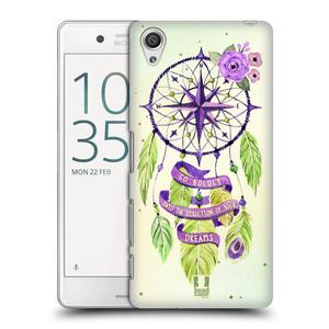 Plastové pouzdro na mobil Sony Xperia X Performance HEAD CASE Lapač Assorted Compass
