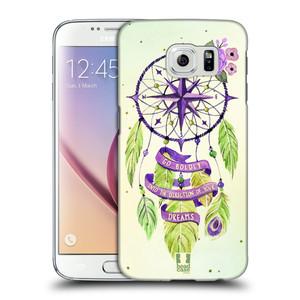 Plastové pouzdro na mobil Samsung Galaxy S6 HEAD CASE Lapač Assorted Compass