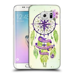 Plastové pouzdro na mobil Samsung Galaxy S6 Edge HEAD CASE Lapač Assorted Compass