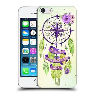 Plastové pouzdro na mobil Apple iPhone SE, 5 a 5S HEAD CASE Lapač Assorted Compass