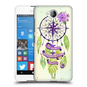 Plastové pouzdro na mobil Microsoft Lumia 650 HEAD CASE Lapač Assorted Compass