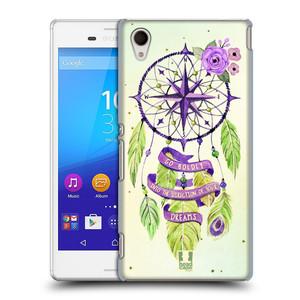 Plastové pouzdro na mobil Sony Xperia M4 Aqua E2303 HEAD CASE Lapač Assorted Compass