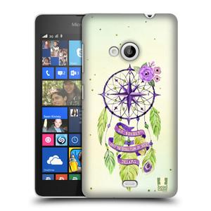 Plastové pouzdro na mobil Microsoft Lumia 535 HEAD CASE Lapač Assorted Compass