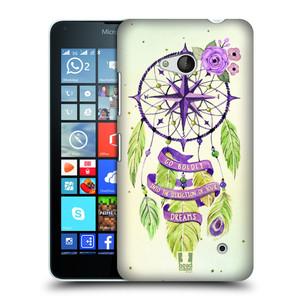 Plastové pouzdro na mobil Microsoft Lumia 640 HEAD CASE Lapač Assorted Compass