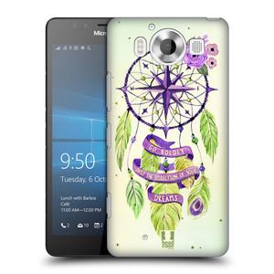 Plastové pouzdro na mobil Microsoft Lumia 950 HEAD CASE Lapač Assorted Compass