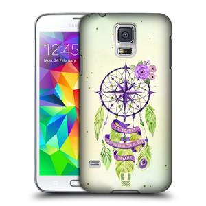 Plastové pouzdro na mobil Samsung Galaxy S5 HEAD CASE Lapač Assorted Compass
