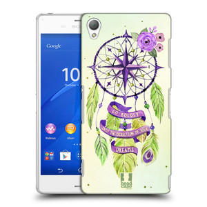 Plastové pouzdro na mobil Sony Xperia Z3 D6603 HEAD CASE Lapač Assorted Compass