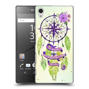 Plastové pouzdro na mobil Sony Xperia Z5 HEAD CASE Lapač Assorted Compass