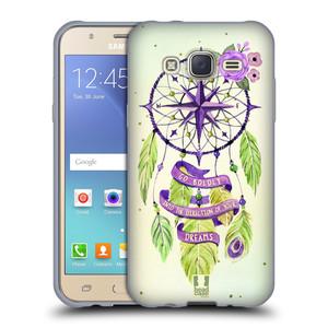 Silikonové pouzdro na mobil Samsung Galaxy J5 HEAD CASE Lapač Assorted Compass
