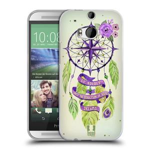 Silikonové pouzdro na mobil HTC ONE M8 HEAD CASE Lapač Assorted Compass