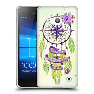 Silikonové pouzdro na mobil Microsoft Lumia 550 HEAD CASE Lapač Assorted Compass