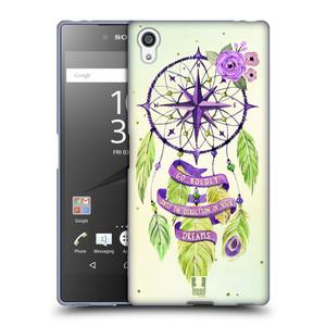 Silikonové pouzdro na mobil Sony Xperia Z5 Premium HEAD CASE Lapač Assorted Compass