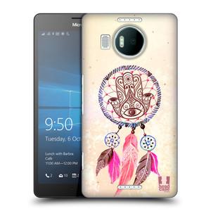 Plastové pouzdro na mobil Microsoft Lumia 950 XL HEAD CASE Lapač Assorted Hamsa