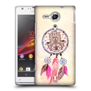 Plastové pouzdro na mobil Sony Xperia SP C5303 HEAD CASE Lapač Assorted Hamsa