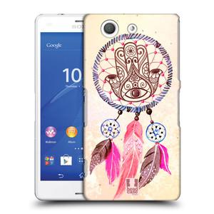 Plastové pouzdro na mobil Sony Xperia Z3 Compact D5803 HEAD CASE Lapač Assorted Hamsa