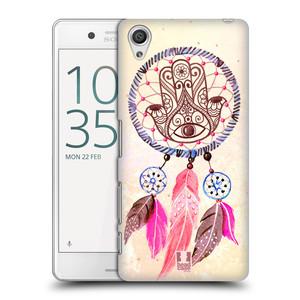 Plastové pouzdro na mobil Sony Xperia X Performance HEAD CASE Lapač Assorted Hamsa