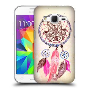 Plastové pouzdro na mobil Samsung Galaxy Core Prime LTE HEAD CASE Lapač Assorted Hamsa