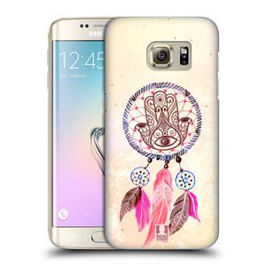 Plastové pouzdro na mobil Samsung Galaxy S7 Edge HEAD CASE Lapač Assorted Hamsa