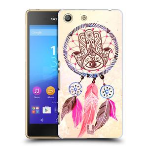 Plastové pouzdro na mobil Sony Xperia M5 HEAD CASE Lapač Assorted Hamsa