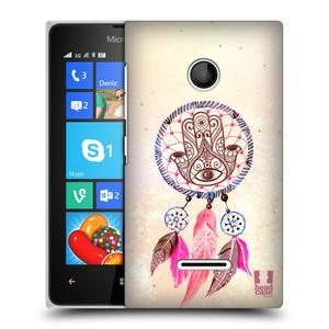 Plastové pouzdro na mobil Microsoft Lumia 435 HEAD CASE Lapač Assorted Hamsa