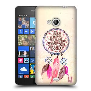 Plastové pouzdro na mobil Microsoft Lumia 535 HEAD CASE Lapač Assorted Hamsa