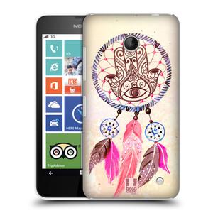 Plastové pouzdro na mobil Nokia Lumia 630 HEAD CASE Lapač Assorted Hamsa