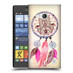 Plastové pouzdro na mobil Nokia Lumia 735 HEAD CASE Lapač Assorted Hamsa