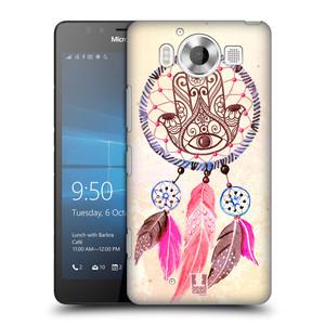 Plastové pouzdro na mobil Microsoft Lumia 950 HEAD CASE Lapač Assorted Hamsa