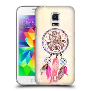 Plastové pouzdro na mobil Samsung Galaxy S5 Mini HEAD CASE Lapač Assorted Hamsa