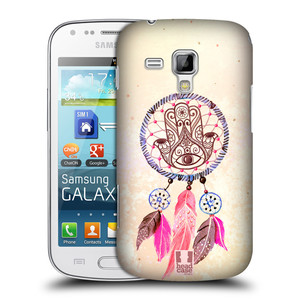 Plastové pouzdro na mobil Samsung Galaxy Trend Plus HEAD CASE Lapač Assorted Hamsa