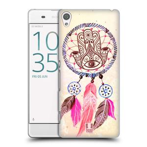 Plastové pouzdro na mobil Sony Xperia XA HEAD CASE Lapač Assorted Hamsa
