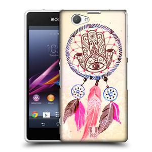 Plastové pouzdro na mobil Sony Xperia Z1 Compact D5503 HEAD CASE Lapač Assorted Hamsa