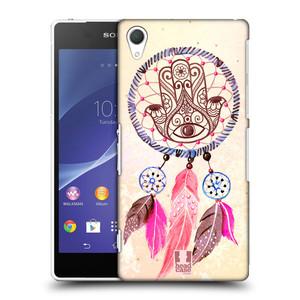 Plastové pouzdro na mobil Sony Xperia Z2 D6503 HEAD CASE Lapač Assorted Hamsa