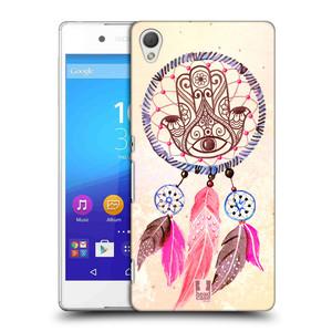 Plastové pouzdro na mobil Sony Xperia Z3+ (Plus) HEAD CASE Lapač Assorted Hamsa