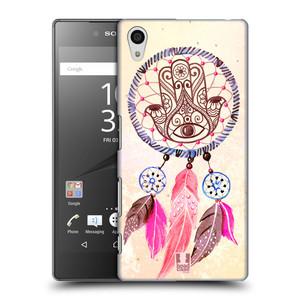 Plastové pouzdro na mobil Sony Xperia Z5 HEAD CASE Lapač Assorted Hamsa