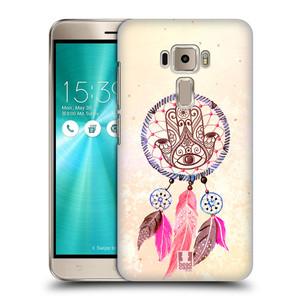 Plastové pouzdro na mobil Asus ZenFone 3 ZE520KL HEAD CASE Lapač Assorted Hamsa