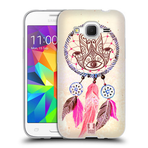 Silikonové pouzdro na mobil Samsung Galaxy Core Prime LTE HEAD CASE Lapač Assorted Hamsa